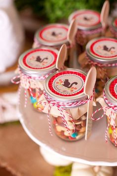 Woodland owl party with so many darling ideas via kara's party ideas Owl Parties, Owl Birthday Parties, Birthday Ideas, Owl Party Supplies, Baby Shower Gifts For Guests, Festa Party, Woodland Party, Woodland Theme, Kid Party Favors
