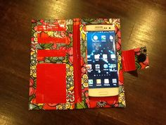 Duck Tape Galaxy phone case/wallet/credit card holder. Carry all in one!
