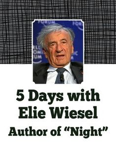an analysis of night biography of holocaust survivor elie wiesel For elie wiesel, author of night, and for many other holocaust survivors, it is  important to tell their stories as witnesses of one of the most horrible times in  history.