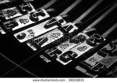 some typos of an old typewriter
