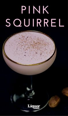 This cocktail has a good deal in common with the Brandy Alexander and the Grasshopper with its crème de cacao and cream. Where it differs markedly is in the inclusion of crème de noyaux, a once popular but relatively forgotten liqueur that is similar to amaretto. The red color of the liqueur usually comes from cochineal, which doesn't affect the singular herbal-meets-bitter almond flavor.