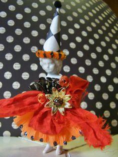 Halloween Frozen Charlotte Doll