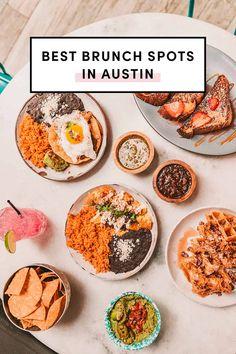 Best Brunch Restaurants In Austin by A Taste Of Koko. Updated for this year. Best Breakfast In Austin, Austin Brunch, Austin Food, Austin Tx, Brunch Spots, Homemade Breakfast, Brunch Recipes, Brunch Ideas, Foodie Travel