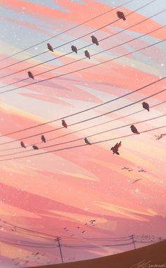 Sight Reading Framed Art Print by Zandraart - Vector Black - Anime Scenery Wallpaper, Aesthetic Pastel Wallpaper, Aesthetic Backgrounds, Aesthetic Wallpapers, Wallpaper Backgrounds, Screen Wallpaper, Wallpaper Quotes, Aesthetic Anime, Aesthetic Art