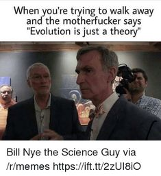 Check out the funniest memes, funny GIFs and hilarious videos that make you laugh out loud in public! Losing My Religion, Anti Religion, Bill Nye Memes, Funny Images, Funny Pictures, Atheist Humor, Athiest, Science Guy, Laugh Out Loud