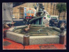 Hammfiction: Tierbrunnen auf dem Marktplatz