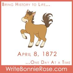 """FREE TImeline Worksheet: April 8, 1872: Celebrate the birthday of O. Raymond Knight, """"Father of the Canadian Rodeo,"""" with today's story about Chester, a little horse that gets lost and finds he can trust God to take care of him, just like his mom promised. - WriteBonnieRose.com Homeschool Curriculum, Homeschooling, Bible Society, Short Stories For Kids, Canadian History, History Timeline, Yesterday And Today, S Stories, Chester"""