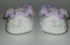 Crochet Spot » Blog Archive » Crochet Pattern: Frilly Baby Booties - Crochet Patterns, Tutorials and News