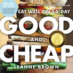 Good and Cheap cover 2nd edition