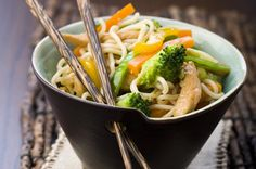 Lemon chicken stir-fry with noodles - Our best chicken stir-fry recipes
