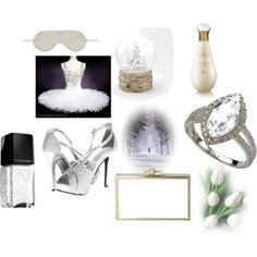 """WHITE SWAN"" by jelena-peranic on Polyvore"