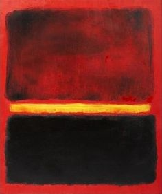 Red Black Yellow in Mark Rothko Art Abstract Painters, Abstract Art, Rothko Art, Mark Rothko Paintings, Oil Paintings, Robert Rauschenberg, Joan Mitchell, Camille Pissarro, Drawn Art