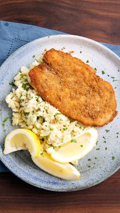 Pretzels are the perfect coating for chicken schnitzel paired with a super cheesy brown butter spaetzle.