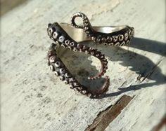 VENTA listo para enviar Joyería hecha a mano anillo por OctopusMe