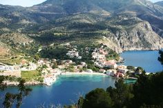 Defanarata is one of the smallest villages in Erissos of Kefalonia with 14 permanent residents, but with two historical churches to their limits. Seaside Village, Greece Travel, Greek Islands, Venetian, Photo S, Beautiful Places, Castle, River, Summer