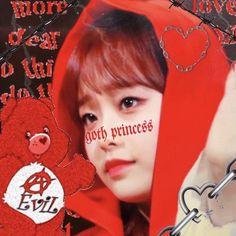 Goth Aesthetic, Kpop Aesthetic, Extended Play, Kpop Boy, Kpop Girls, Emo, Chuu Loona, Goth Princess, Girl G