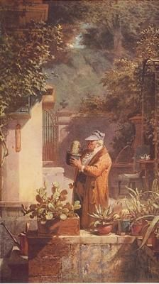 My mother love this artist. She bought his prints when we lived in Germany ~Pensionist by Carl Spitzweg