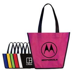 The Non-Woven Fiesta Tote Bag has a fresh design in a bunch of colors. #QLPcontests