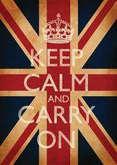 """""""Keep Calm!"""" Love these"""