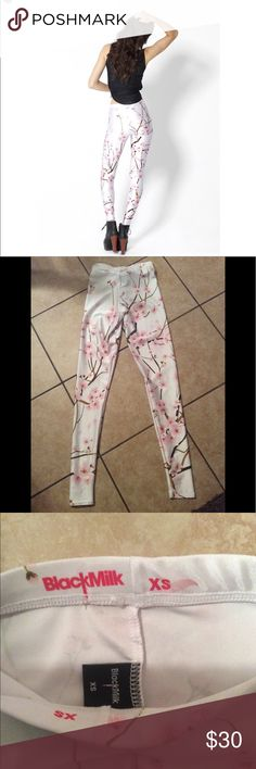Black milk legging xs Black milk legging xs current style and print excellent condition black milk Pants Leggings