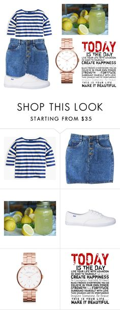 """""""Blue, White and Lemonade set 2(hot day on tap in St. Louis)"""" by shycoygirl65 on Polyvore featuring J.Crew, Marc by Marc Jacobs and Universal Lighting and Decor"""