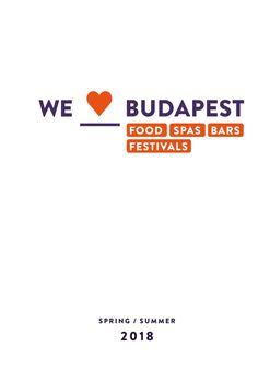 We Love Budapest Pocket Guide Spring/Summer 2018