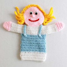 Crochet Samsung Picture of Storybook Puppets: Goldilocks and the 3 Bears Crochet Pattern - Watch Storybook Puppets: Goldilocks Glove Puppets, Hand Puppets, Samsung Picture, Traditional Tales, Goldilocks And The Three Bears, Easy Crochet Projects, Crochet Ideas, 3 Bears, Sport Weight Yarn
