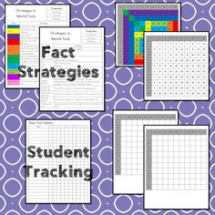 This #teaching unit provides 12 days of instruction Problem Solving Activities, Teaching Activities, Multiplication Facts, Math Facts, Math Lesson Plans, Math Lessons, 3rd Grade Math Worksheets, Data Tracking, Math Talk