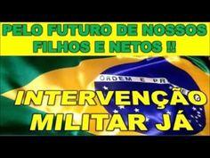 DE  VOLTA ESTE VIDEO TV Ban Brasil AÇÃO Noticia: Intervenção Militar Já