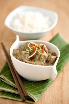 Thai Green Lamb Curry