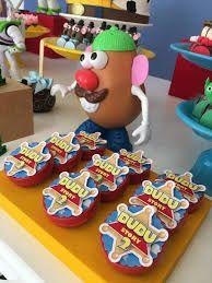 Resultado de imagen para mesa de bolo festa toy story