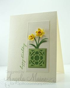 CAS162 Happy Birthday by Arizona Maine - Cards and Paper Crafts at Splitcoaststampers
