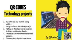 Techknowledgeschool: #qrcodes in #education Example 6 #stem projects by @AndoniSanz #edtech #learning