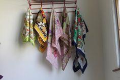 Vintage silk scarves. Start collecting
