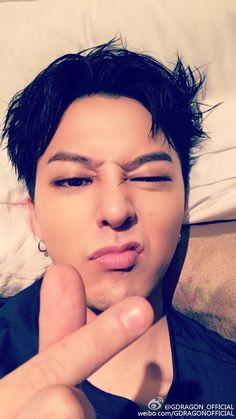 GD weibo update 我爱你 VIP TIANJIN 晚安
