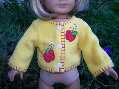 American Girl Doll Clothes  Apples for by KingsLittleBlessings, $9.50