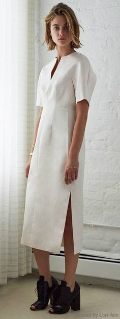 Ellery Resort 2015. Dress=fantastic. Shoes=horrible! Bad bad bad combo.