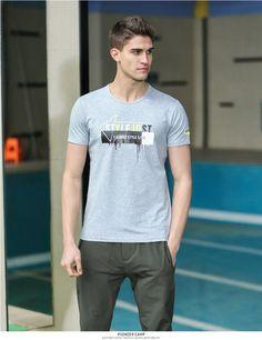Men T Shirt Brand-Clothing Fashion