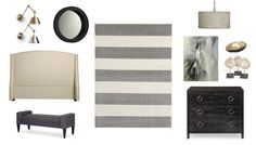 Restful chic master suite designed by Angie Helm Interiors for Scout & Nimble #scoutandnimble #angiehelminteriors