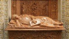 8. Warsztat Berecciego, nagrobek bpa Piotra Tomickiego w jego kaplicy. Poza uspokojona, snu. Wzorowano na nim m.in. nagrobek bpa Gamrata fundacji królowej Bony.