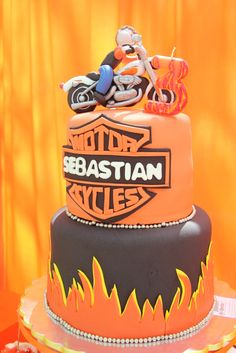 Harley Davidson Birthday Party Ideas Harley davidson Birthdays
