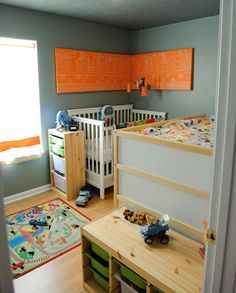 Be sure to see our awesome orange kids rooms. Take an additional 10% with coupon Pin60 at www.CreativeBabyBedding.com