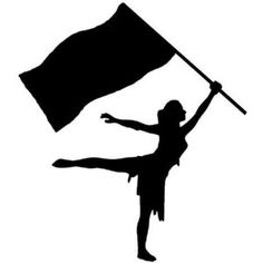 color guard clip art silhouette cricut ideas pinterest color rh pinterest com animated color guard clip art color guard rifle clipart