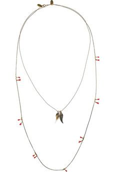 #ISABELMARANT  The Who & My Generation set of #two brass #necklaces
