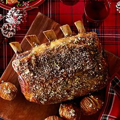 Prime Rib with Herbes de Provence Crust. This says Christmas Dinner to me!
