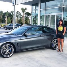 "#regram from @fieldsbmw - "" Congratulations to Lisa on the purchase of her brand new BMW 4 Series from our BMW of Daytona location. Welcome to the Fields BMW family Lisa! We wish you many safe and happy miles! #newBMW #FieldsBMW #newcar #congratulations #BMW"" #FieldsCollision #Fields CollisionCenter #Fields #Collision #Center #DaytonaBeach #Florida"
