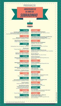 Aniversário de Sobradinho é comemorado com bolo de 55 metros - http://noticiasembrasilia.com.br/noticias-distrito-federal-cidade-brasilia/2015/05/13/aniversario-de-sobradinho-e-comemorado-com-bolo-de-55-metros/