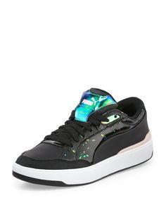 Puma X Alexander McQueen Brace Femme Low-Top Sneaker, Black, Women's, Size