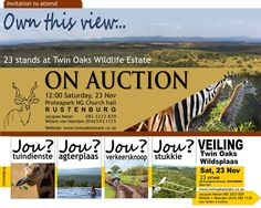 Rustenburg Twin Oaks Estate Auction