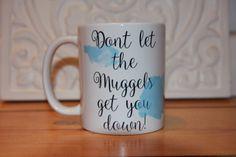 Becher & Tassen - Harry Potter Mug Tasse Muggel Wasserfarbe - ein Designerstück von CatsCorporation bei DaWanda